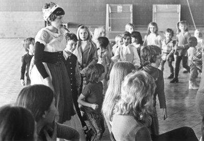 "Performance of ""Circus Kazoo"" at Waterloo Lutheran University, 1972"