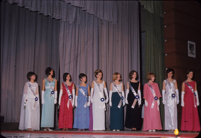 Miss Canadian University Queen Pageant, 1967