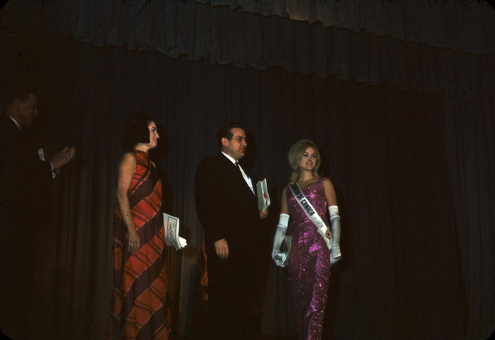 1967 Miss Canadian University Queen Pageant judges