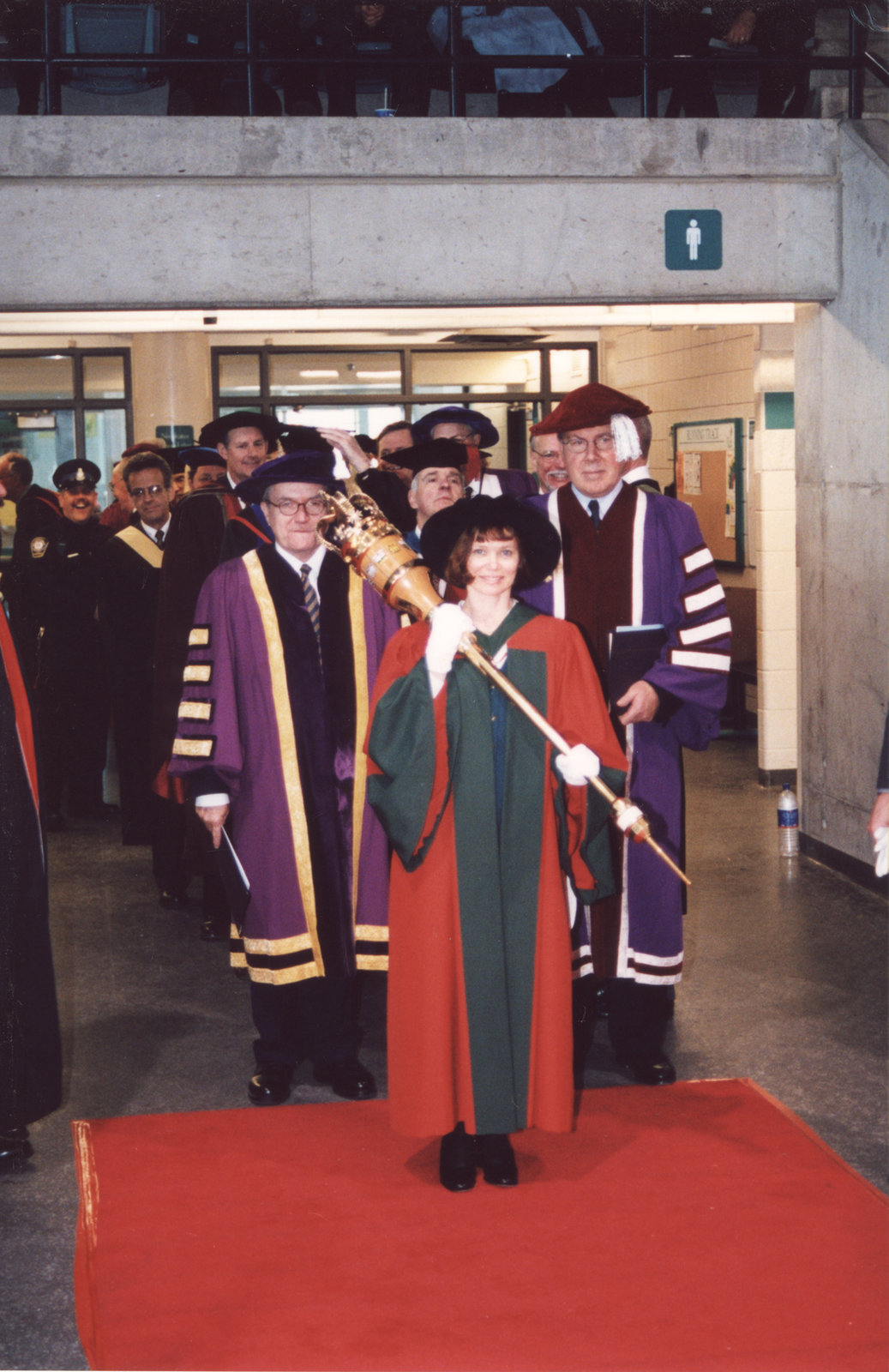 Fall convocation 2001, Wilfrid Laurier University