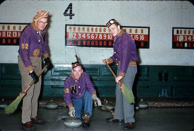 Waterloo College students curling