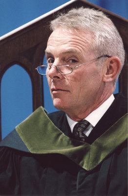 David McMurray at fall convocation 2001, Wilfrid Laurier University