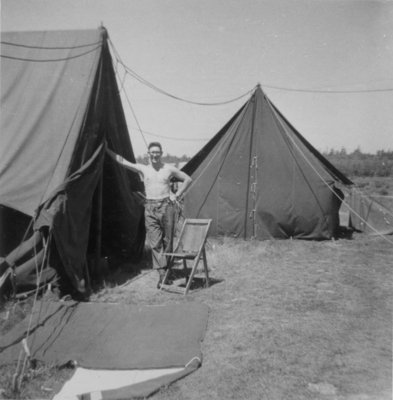 Harold Russell at Camp Gagetown