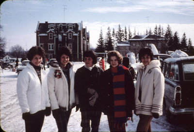 Waterloo Lutheran University Winter Carnival 1962