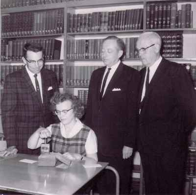 Waterloo Lutheran University Library acquisition of the 10,000th Seminary volume