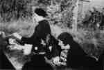 Woldemar Neufeld and two women