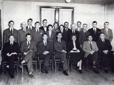 Waterloo College faculty, 1952