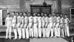 Waterloo College pyramid team, 1925