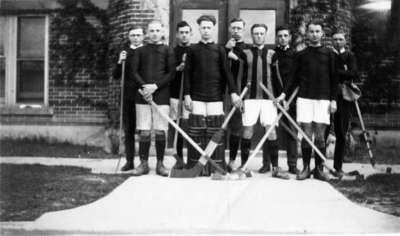Waterloo College hockey team, 1924-25