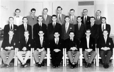 Seminary Male Chorus, 1955-56