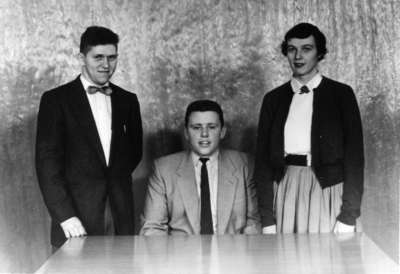 Waterloo College Athletic Directorate, 1954-55