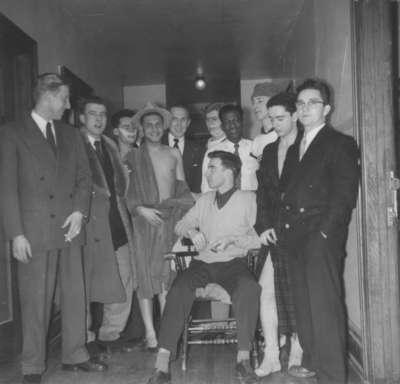 Waterloo College students, 1954-55