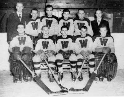 Waterloo College hockey team, 1951-52