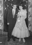 Doreen Sanderson and Jack Fritz at Waterloo College's Snow Ball, 1955