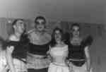 Four Purple and Gold Revue cast members, 1957