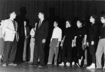 Purple and Gold Revue, 1957
