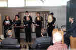 Wilfrid Laurier University Choir Chapel performing at unveiling of medieval manuscript