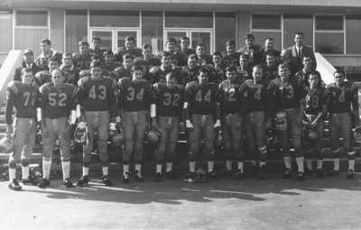 Waterloo Lutheran University football team, 1966-67