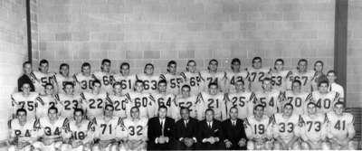 Waterloo Lutheran University football team, 1963-64