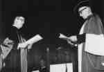 Installation ceremony of Waterloo Lutheran University Chancellor William Ross Macdonald, December 5, 1964