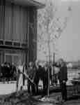 Waterloo Lutheran University Class of 1966 tree planting ceremony