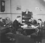 Waterloo College students in a common room