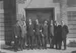 Evangelical Lutheran Seminary of Canada students in front of Willison Hall