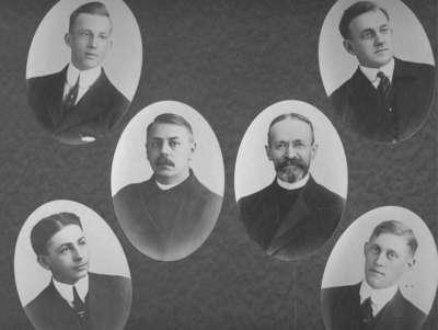Waterloo Seminary graduating class 1916