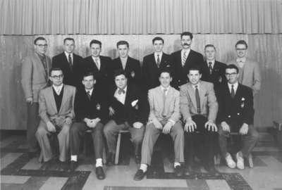 Waterloo College Curling Club, 1954-55