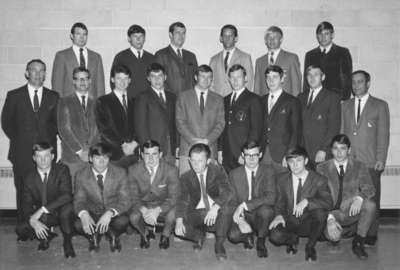 Waterloo Lutheran University hockey team, 1968-69