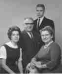 Henry Endress family portrait