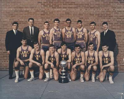 Waterloo Lutheran University men's basketball team, 1967-68