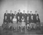 Waterloo College senior class 1953-54