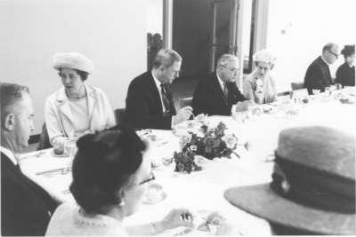 Waterloo Lutheran University graduation banquet, 1968