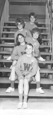 Waterloo Lutheran University cheerleaders, 1968-1969