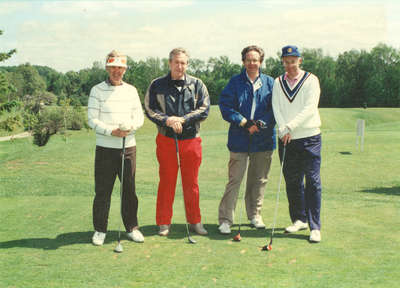 Rotary Club of Kitchener Vince Scherer Memorial Golf Tournament, 1990