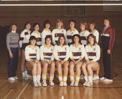 Wilfrid Laurier University women's volleyball team, 1982-83