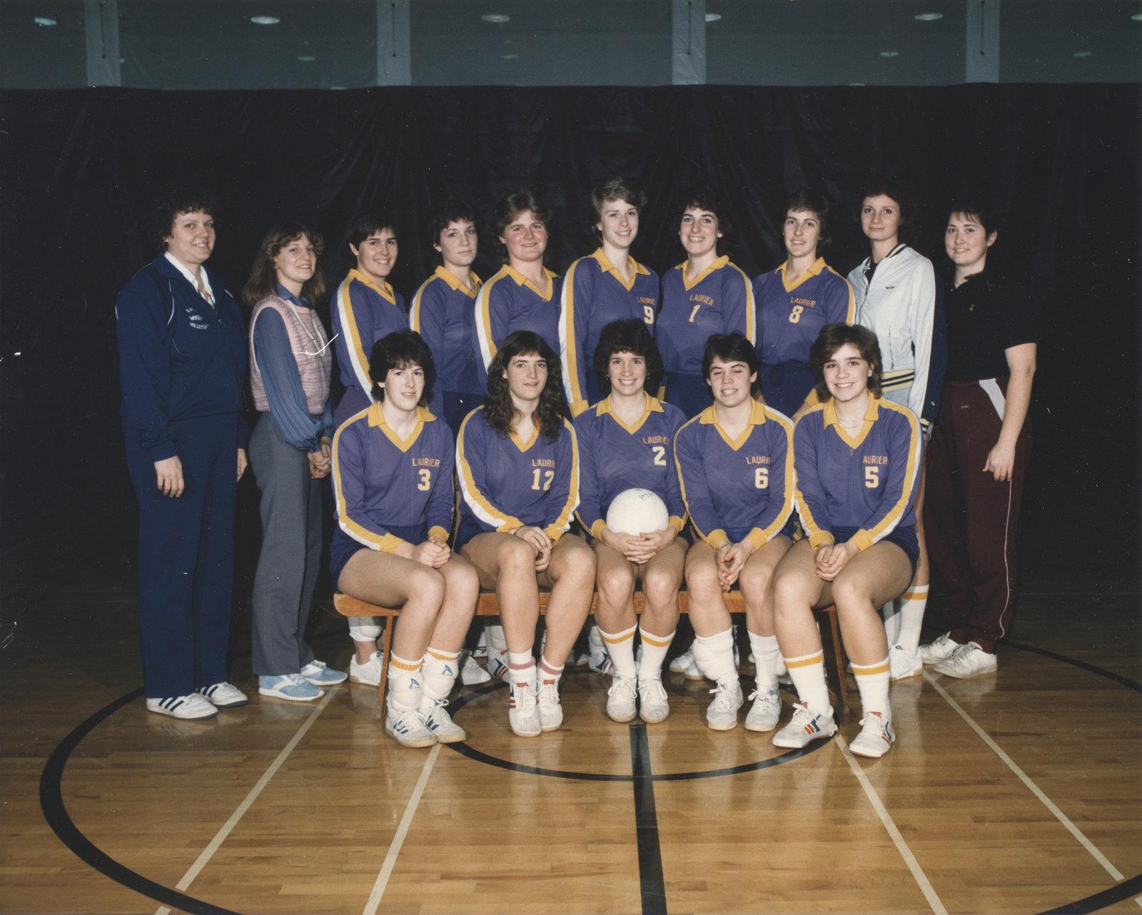 Wilfrid Laurier University women's volleyball team, 1984-85