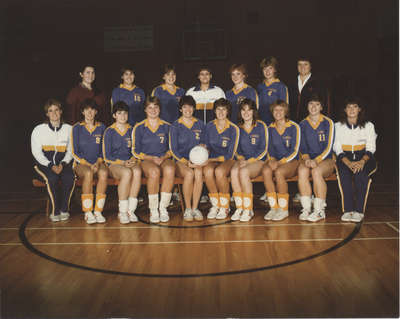 Wilfrid Laurier University women's volleyball team, 1983-84