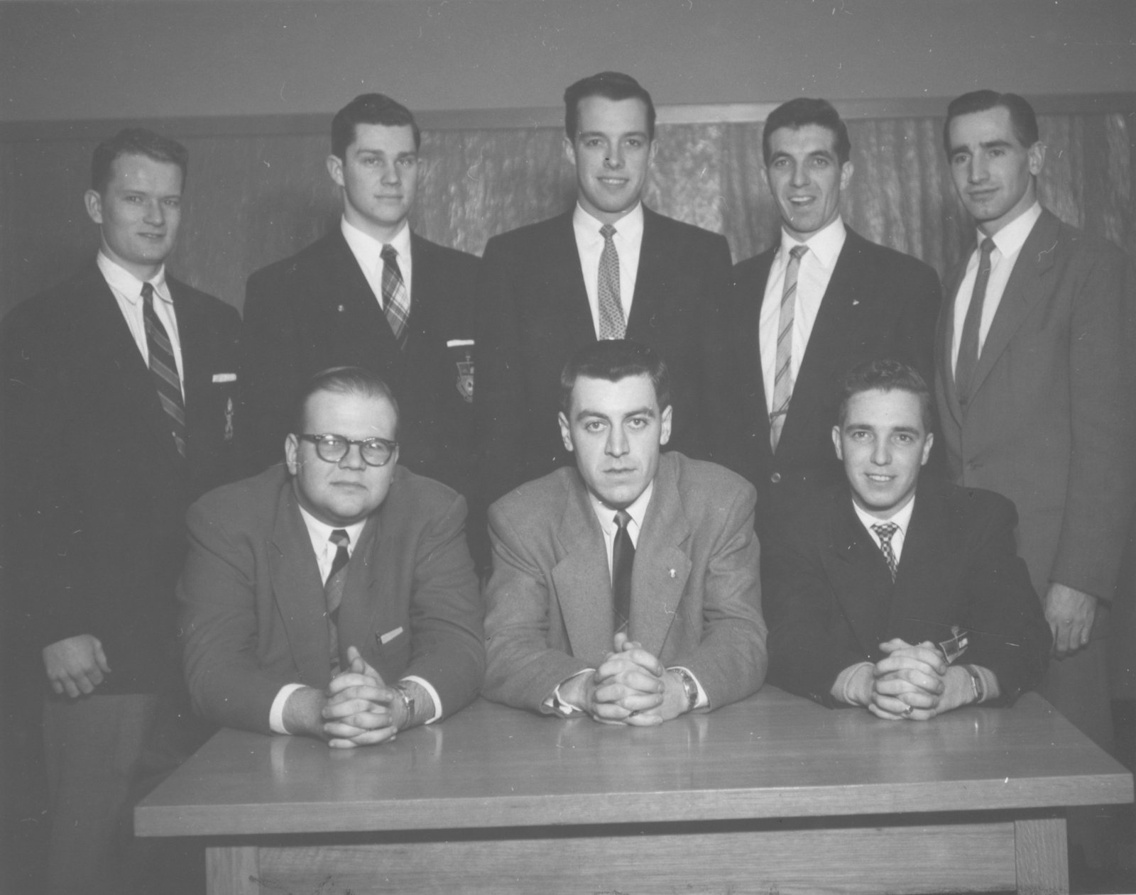Waterloo College Circle-K-Club, 1955-56