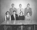 Waterloo College freshman class executive, 1953-54