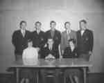 Waterloo College sophomore class executive, 1953-54