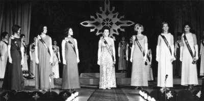 Miss Canadian University Queen Pageant semi-finalists, 1968