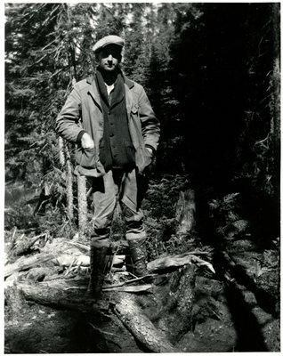 Roy Martin dans la forêt / Roy Martin in the forest