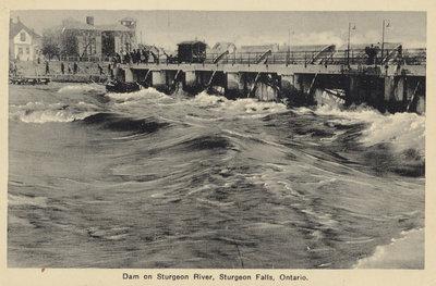 Barrage, Sturgeon Falls / Dam, Sturgeon Falls