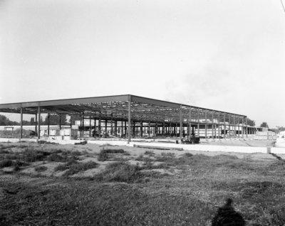 Construction de l'école Sturgeon Falls High School / Construction of the Sturgeon Falls High School