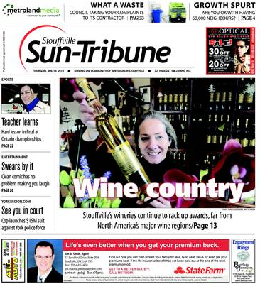 Stouffville Sun-Tribune (Stouffville, ON), 16 Jan 2014