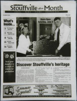 Whitchurch-Stouffville This Month (Stouffville Ontario: Star Marketing (1460912 Ontario Inc), 2001), 1 Jun 2004