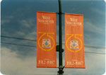 Banners for 75th Anniversary