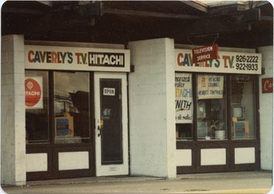 Caverly's T.V.